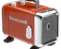 Honeywell HZ-510E Keramik-Heizlüfter in rot-Chrom