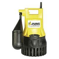 Schmutzwasserpumpe U 3 KS mit angebauter Schaltautomatik - Vertikal einstufige Tauchmotorpumpe mit horizontalem Druckabgang und hoher Betriebssicherheit.
