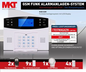 Multi Kon Trade Funk-Alarmanlagen-System M2B GSM Verpackung