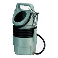 Sandstrahlgerät für 10 l Strahlt; mit Pistole & 5 m Sand-Schlauch; für Strahlgut Körnung 0,4 - 0,8 mm