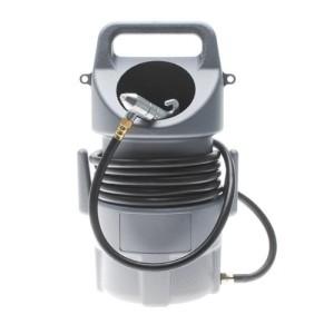 Sandstrahlgerät mit Behälter und Strahlpistole