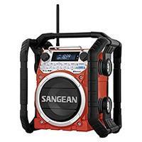 Das Sangean U-4 BT ist ein robustes Outdoor-Radio mit Bluetoothunterstützung, das jedem Außeneinsatz Stand hält.