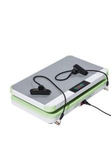 Vibrationsplatte mit Trainingsbändern