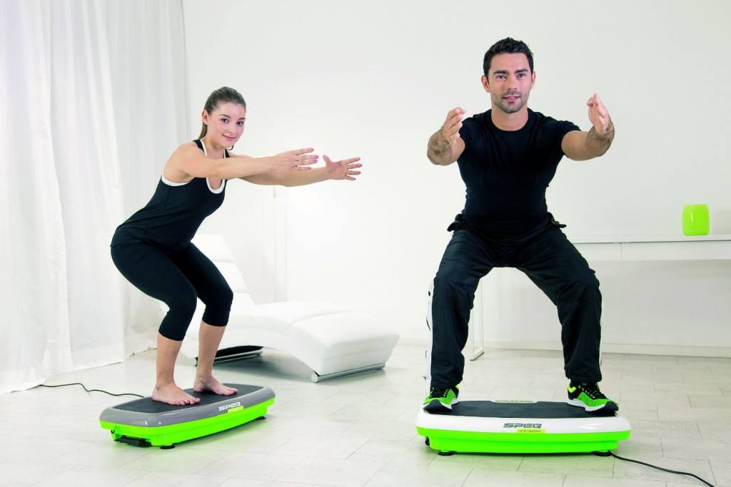 Übungen für den Körper auf Speq Vibrationsplatten ohne Zubehör