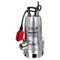 Hochwertige Schmutzwassertauchpumpe mit einer Fördermenge von 18.000 l/h max. und einer Korngröße von 30 mm max.