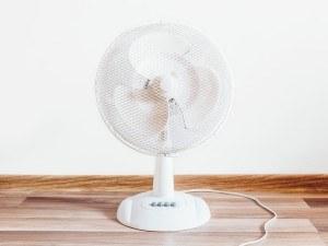 Ventilator weiss
