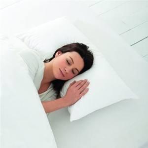 Badenia 03771512108 Trendline Wasserkissen für den gesunden Schlaf, 40 x 80 cm
