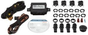 Bosch 0263009565 Parkpilot URF7, optische und akkustische universal Einparkhilfe mit 4 Sensoren in Erstausrüstungsqualtität