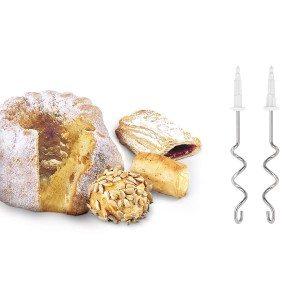 Knethaken und Kuchen