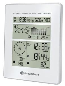 Bresser Funkwetterstation Wetter Center, Weiß
