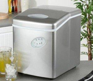Eiswürfelmaschine - Eismaschine - Eismaschine für die Arbeitsplatte - Neues kompaktes Modell