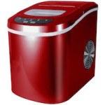 Eiswürfelmaschine inkl. Eiswürfelschaufel (2 verschiedene Eiswürfelgrößen, 12 kg pro Tag)
