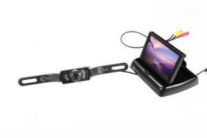 """Esky:registered: Auto 4,3"""" Faltbarer Farb TFT LCD Monitor Nachtsicht"""