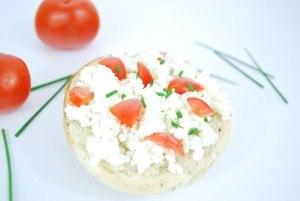 Feta Käse und Tomaten