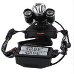 GRDE:registered: Aluminium LED Kopflampe 5000 Lm Super Helle Stirnlampe 4 Modi