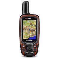 GARMIN GPSmap 64s mit Bluetooth 4.0 Live Tracking GPS und GLONASS-Kompatibilität interner Speicher 4GB 2,6 Zoll Display.