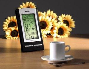 "Hama Elektronische Wetterstation ""EWS-800"", mit Hygrometer/Barometer/Thermometer"