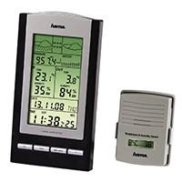 Die elektronische Wetterstation EWS 800 ist ein digitales Wetterbeobachtung Gerät sowie eine exakte DCF-Funkuhr, mit dem Sie alle wichtigen Tagesinformationen auf einen Blick bereit haben: Temperatur, Uhrzeit, Luftdruck und Luftfeuchtigkeit.