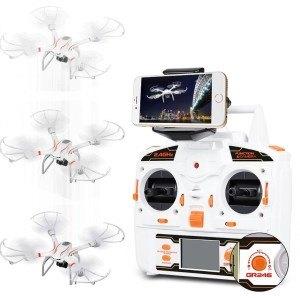 Der Hawkeye-III Quadcopter belegt Platz 3 im Test.