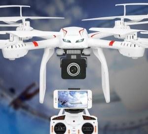 Quadrocopter mit Kamera von Hawkeye