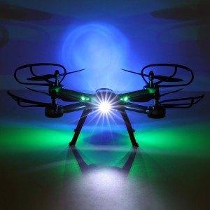 Beleuchteter JJRC Quadrocopter