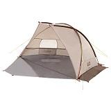 Das Jack Wolfskin Zelt Beach Shelter III, Sahara, One size, 3002521-5122 ist Testsieger.