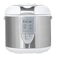 3in1 Funktion: Mit dem KRC-118 können Sie sämtliche weiße Reissorten zubereiten, Speisen dämpfen und anschließend automatisch warmhalten.