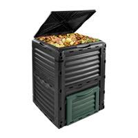 Der Komposter Gartenkomposter 300l Thermokomposter Kompost belegt Platz 8 im Praxistest 2018