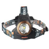 LingsFire® 1800LM CREE T6 LED wiederaufladbare Stirnlampe