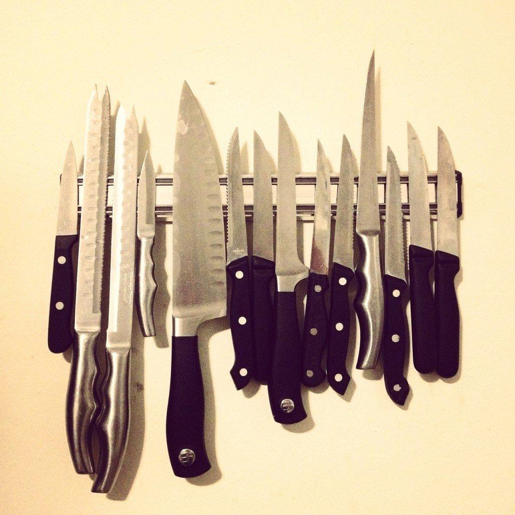 Alternativen zum Messerblock