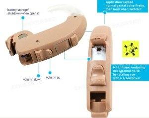 New Siemens Digital-High-Power BTE Hearing Aid LOTUS schweren Verlust Verbessern Geräte (touching)
