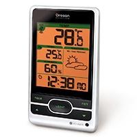 Bar 206 Clear Line -Clear Funkwetterstation - Durchblick beim Wetter durch besonders klare Displayaufteilung mit farbigen Textfeldern.