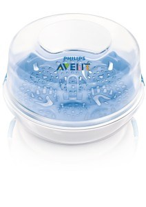 Philips Avent SCF282/02 Mikrowellensterilisator Starter-Set - ideal für unterwegs