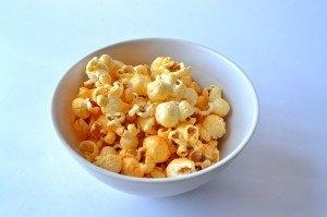 Popcorn im Teller