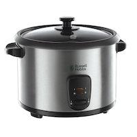 Der elektrische Reiskocher der Cook@Home Serie von Russell Hobbs ist das ideale Küchengerät um ohne großen Aufwand den perfekten Reis zu kochen - ganz ohne Ankleben, Vertrocknen oder Verkleben.