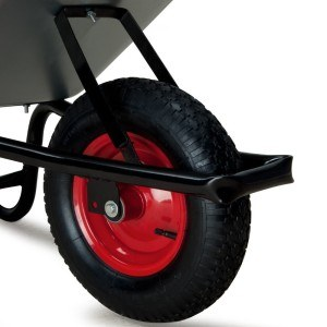 Schubkarre 100 Liter verzinkt - Transportwagen Gerätewagen Gartenkarre