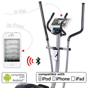 Tablet am Crosstrainer