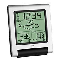 Die Außentemperatur vor Ort wird über einen eigenen Funksender ermittelt, die Innentemperatur messen interne Sensoren. Die aktuelle Uhrzeit wird über das DCF 77 Funksignal empfangen.