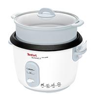 RK 1011 Reiskocher mit Dampfgareinsatz - eine große Kapazität, umfangreiches Zubehör sowie die praktische Warmhaltefunktion am Ende der Kochzeit zeichnen diesen Reiskocher aus.