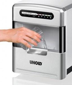 Unold 48946 Eiswürfelbereiter / 140 Watt / 3 verschiedene Eiswürfelgrößen
