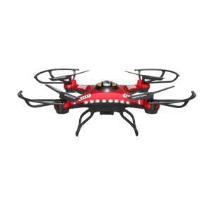 Roter Quadrocopter von Webetop