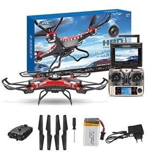 Einzelteile des Quadrocopters von Webetrop