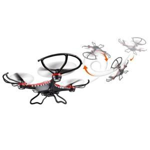Quadrocopter von Webetrop im Flug
