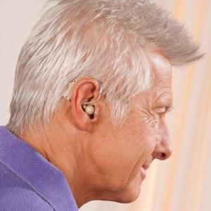 Wiederaufladbarer Hörverstärker