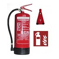 Alle unsere Feuerlöscher sind prüfbar und inklusive gewerbekonformer Erstabnahme durch Andris®! Inkl. Manometer, Standfuß, Instandhaltungsnachweis und ISO Piktogramm.