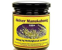 Aktiver Manukahonig 100+ (500g) 100mg/kg Methylglyoxal (Mgo) - zertifizierte Qualität