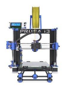 BQ 05BQKIT084 Kit Prusa i3 Hephestos 3D Drucker, PLA/HIPS/FilaFlex, Blau