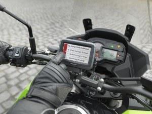 Becker mamba.4 CE LMU Motorrad- Navigationsgerät