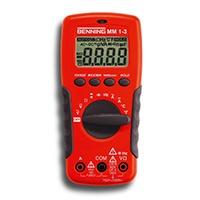 Benning Multimeter Digital MM1-3, 044083 [Energieklasse A]