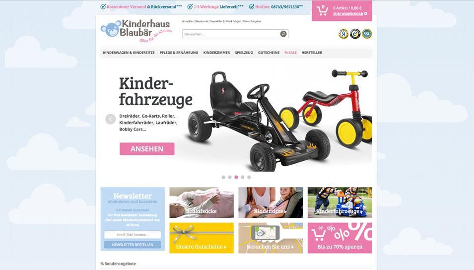 Startseite Kinderhaus Blaubär Baby Online-Shop